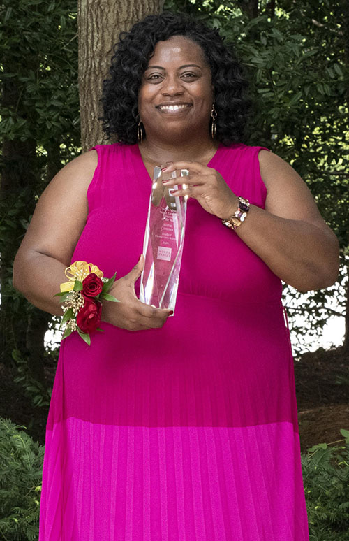 2020 Principal of the Year Winner, Kisha Clemons