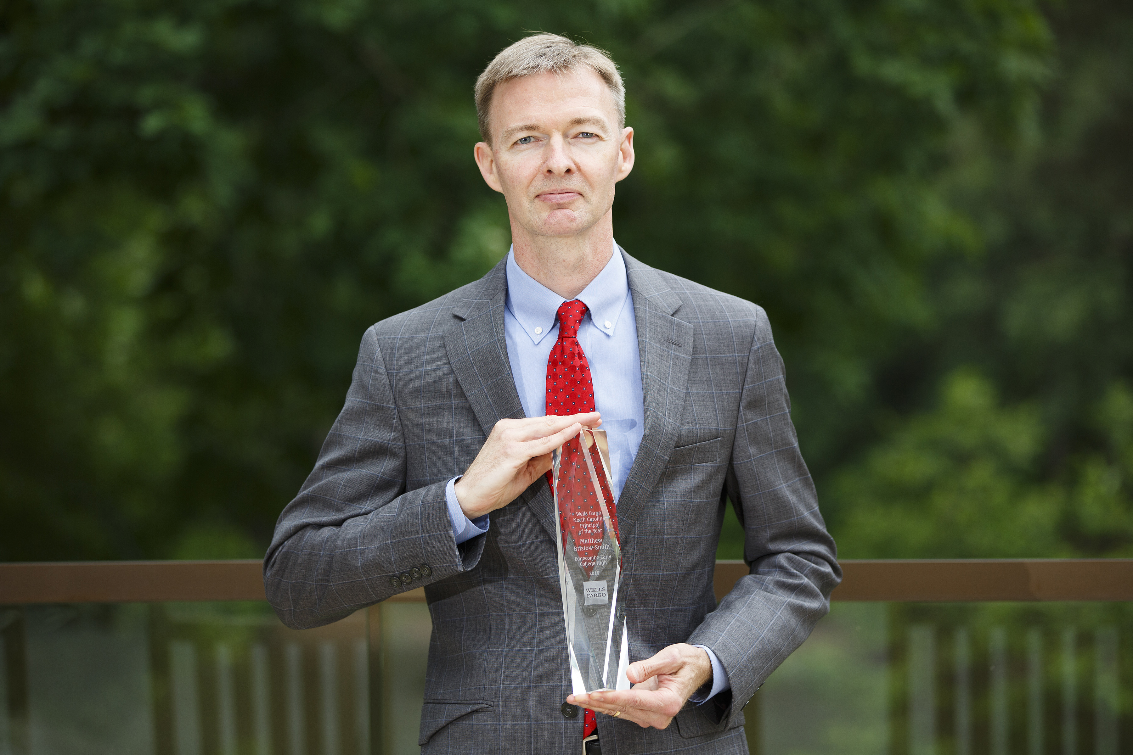 2019 Principal of the Year Winner, Matthew Bristow-Smith