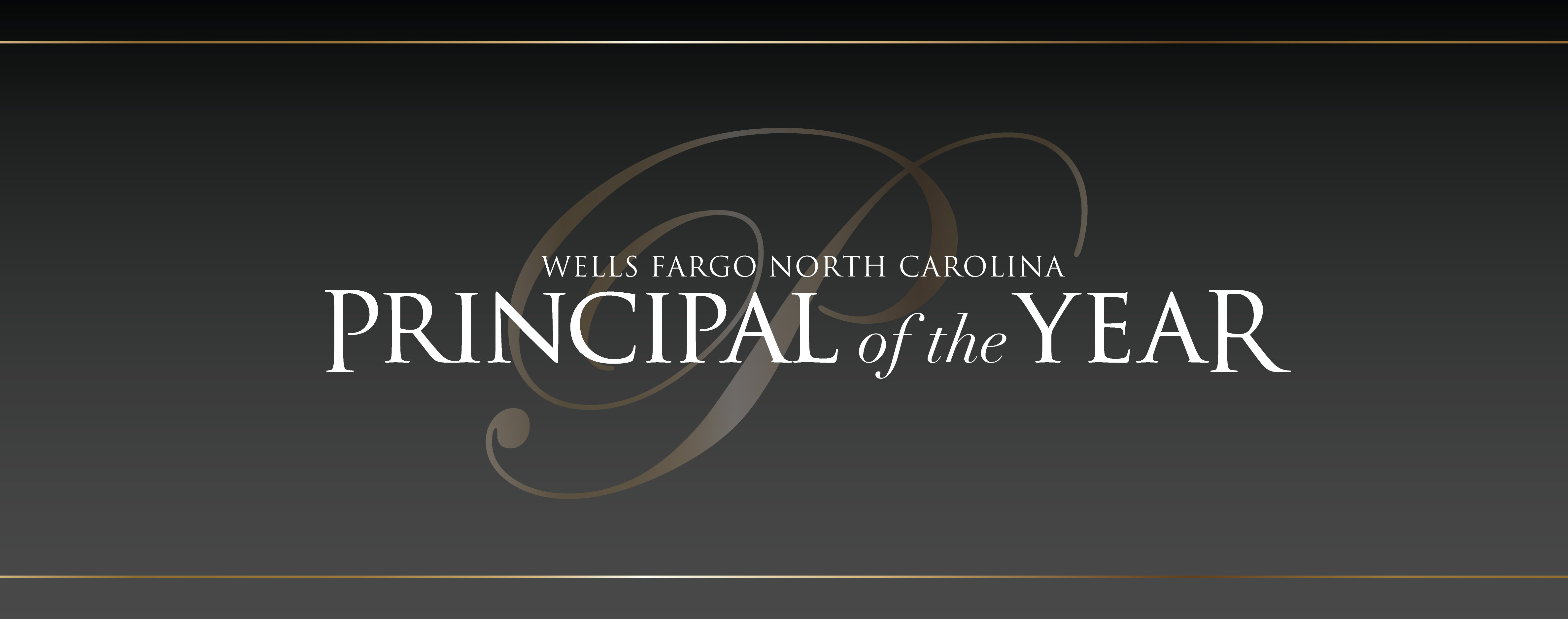 Principal of the Year Banner