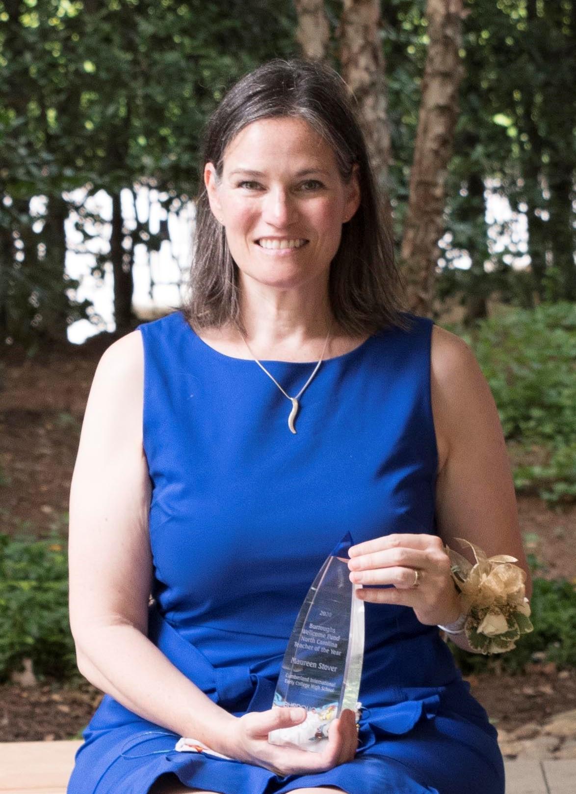 2020 North Carolina Teacher of the Year Maureen Stover