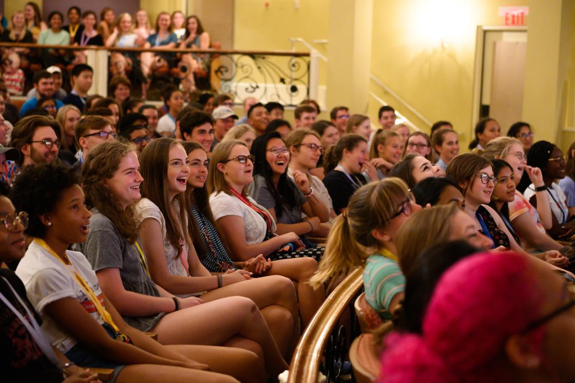 Gov School West students