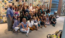 Teachers and trip leaders in the U.S. Holocaust Memorial Museum, Washington, DC, June 2019. Photograph courtesy of Mitch Rifkin.