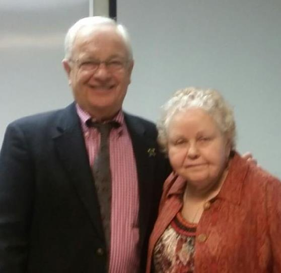 Peter Petschauer and Zohara Boyd.