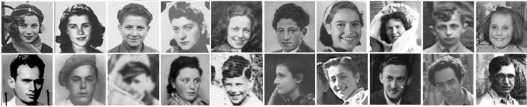 Holocaust survivor photographs.