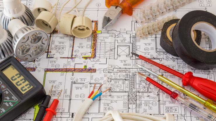 electrical plans and tools