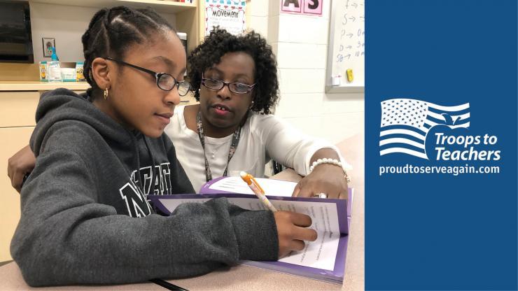 TTT Participant Teaches Student