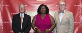 Wells Fargo Sponsor - John Ward | 2020 POY - Kisha Clemons | Wells Fargo Sponsor – Michael Golden