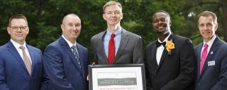 Current & Past NC Principals of the Year