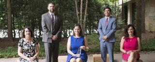 TOY Sponsors – Go Global – Meredith Henderson | NC State Athletics – Brian Simorka | 2020 TOY - Maureen Stover | Superintendent - Mark Johnson | Lenovo – Milanka Muecke