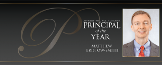 2019 Principal of the Year Matthew Bristow-Smith