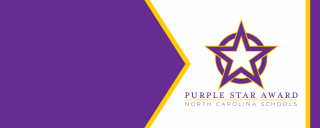 Purple Star Award Banner