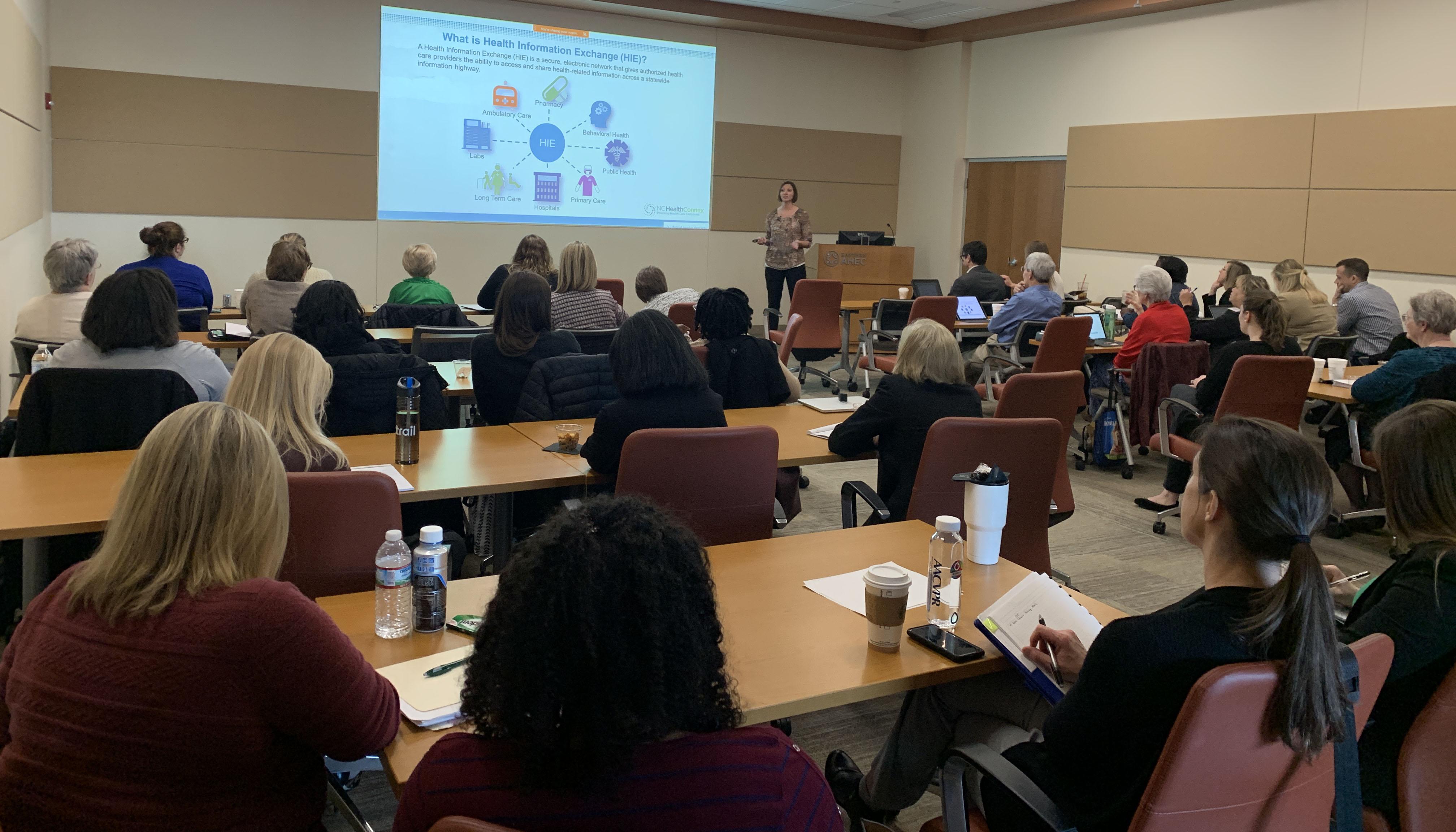 North Carolina Health Information Exchange Authority presentation at the Rural Health Symposium