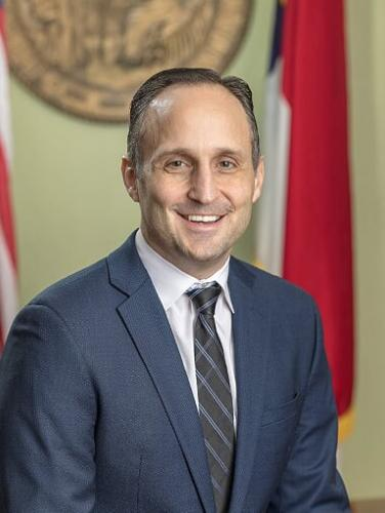 A portrait of Labor Commissioner Josh Dobson.