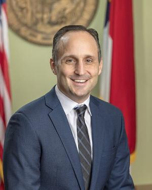 A portrait of Labor Commissioner Josh Dobson.