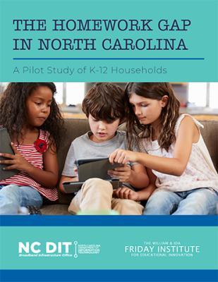 Homework Gap in North Carolina Report Cover