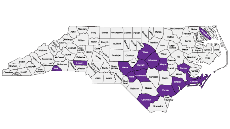 Purple Star Awards Map 2021