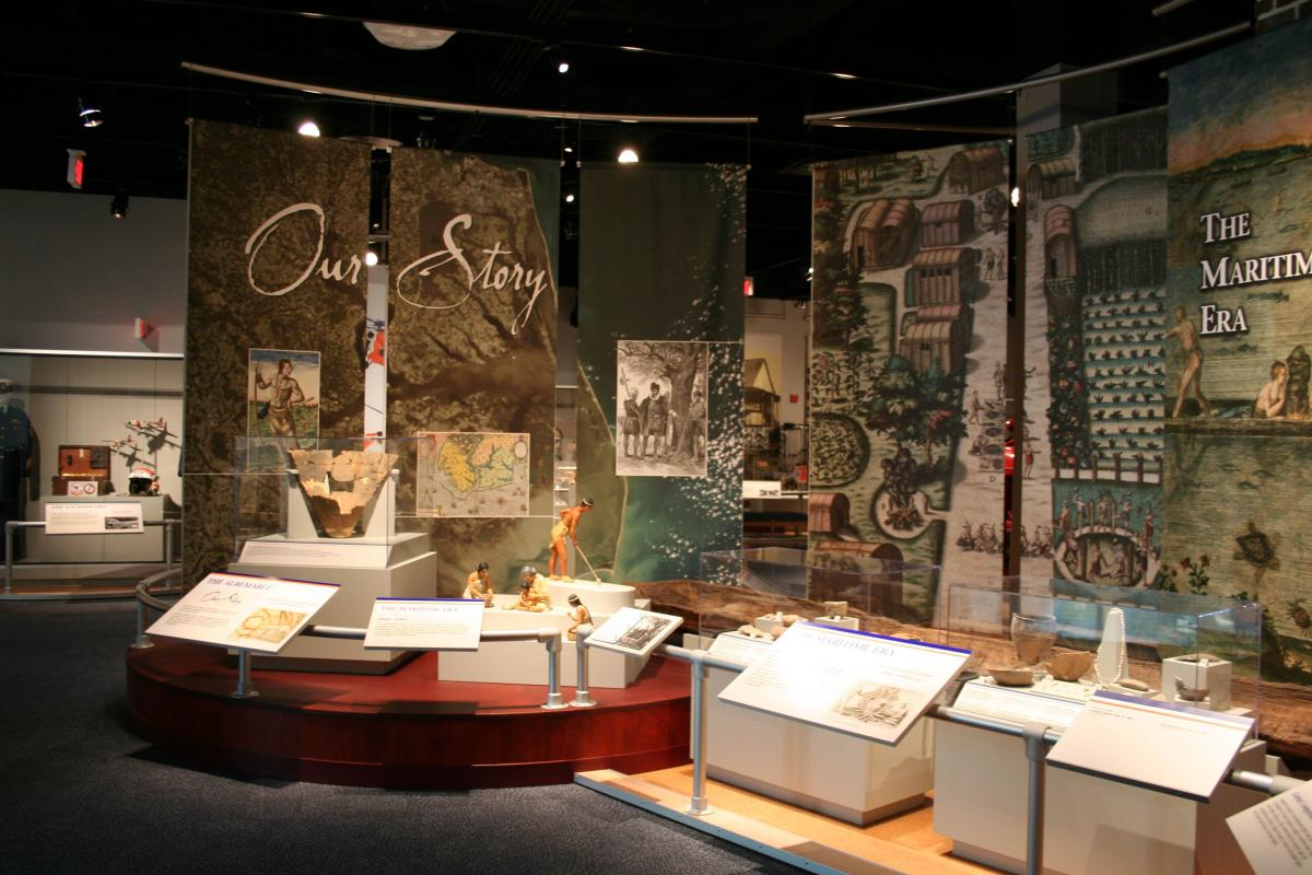 see our exhibits museum of the albemarle