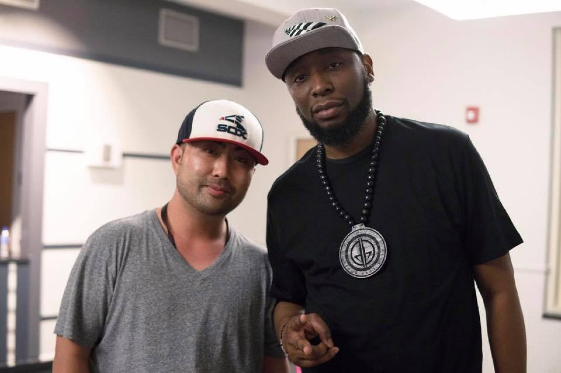 Cameron Lee, founder of CLTure, and 9th Wonder