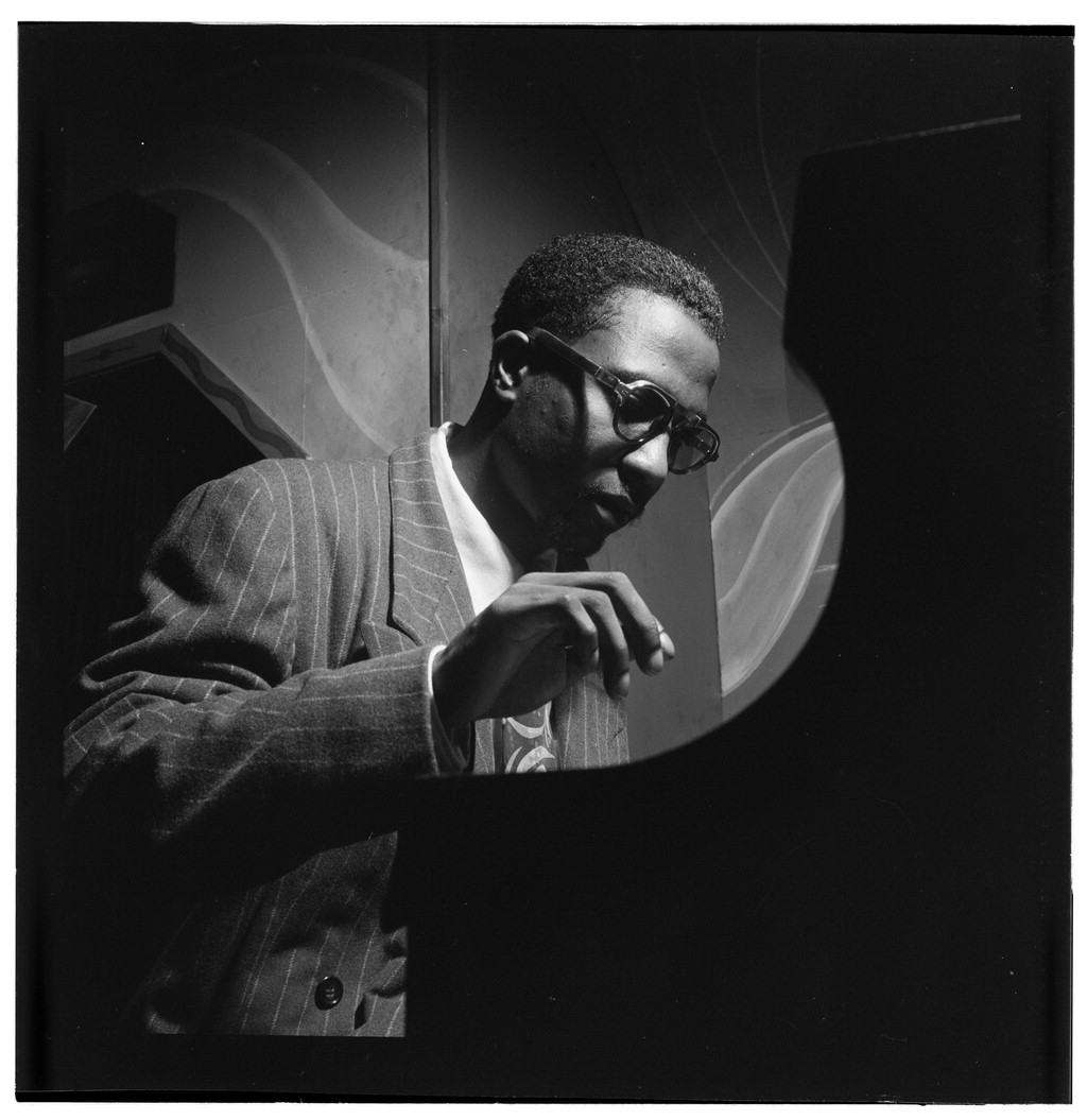 Portrait of Thelonious Monk by William Gottlieb