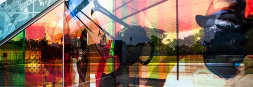 music park reflection