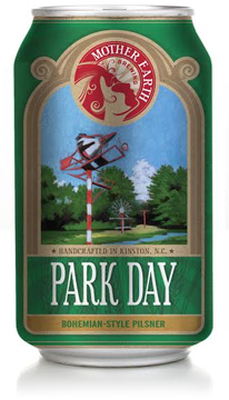Park Day Beer Can