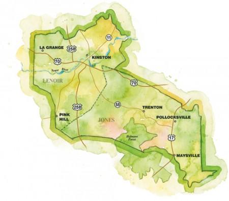 Kinston Region Map