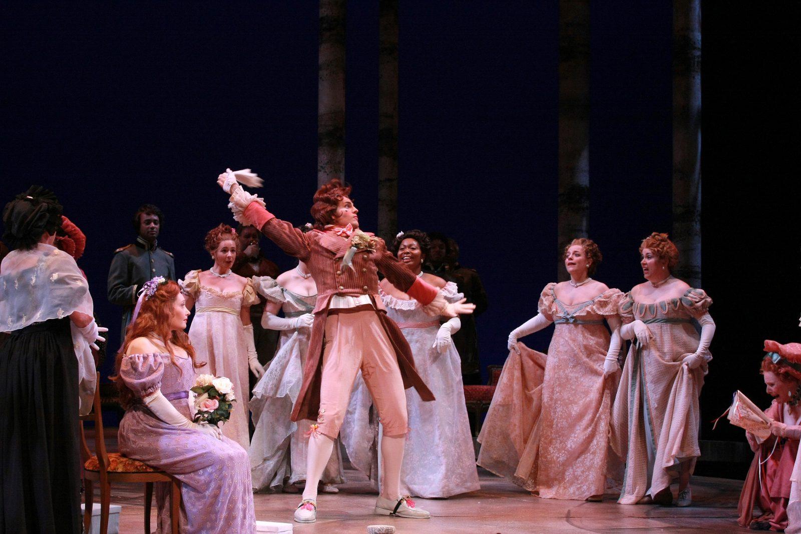 A production of Eugene Onegin | Photo courtesy of Opera Carolina