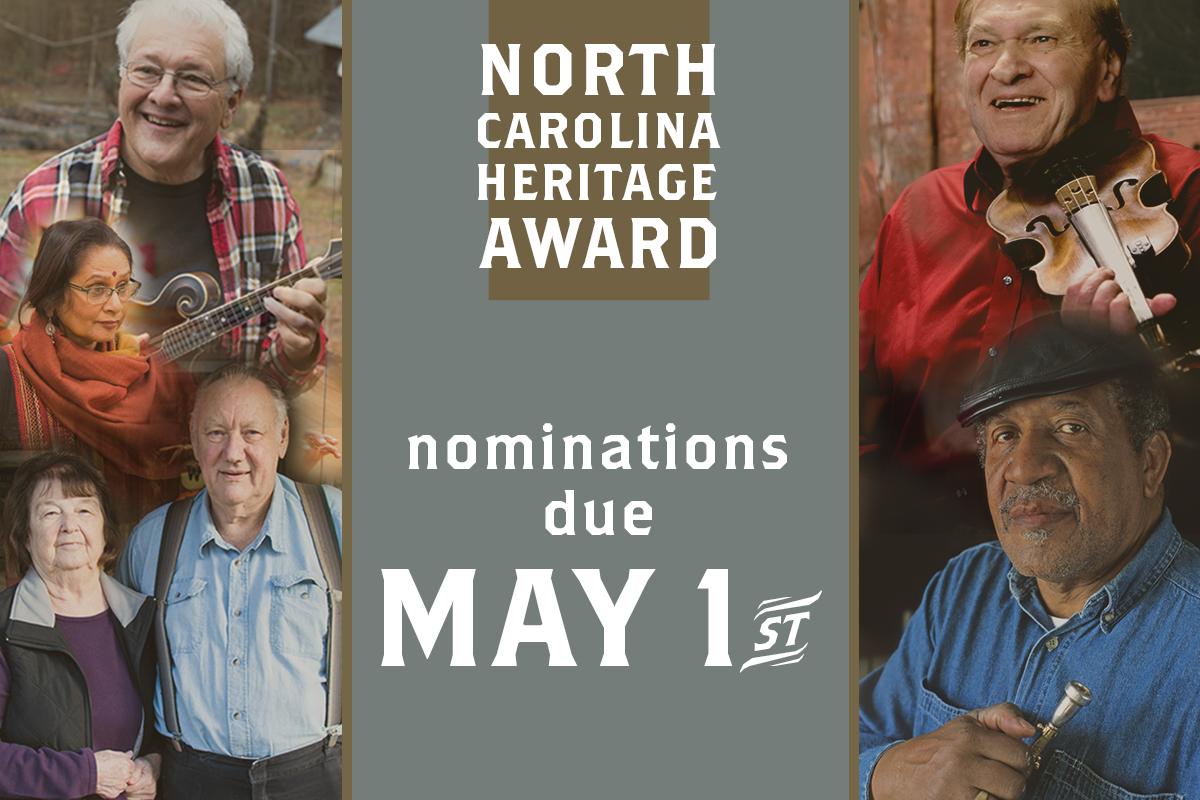 Heritage Award Nominations Due May 1st
