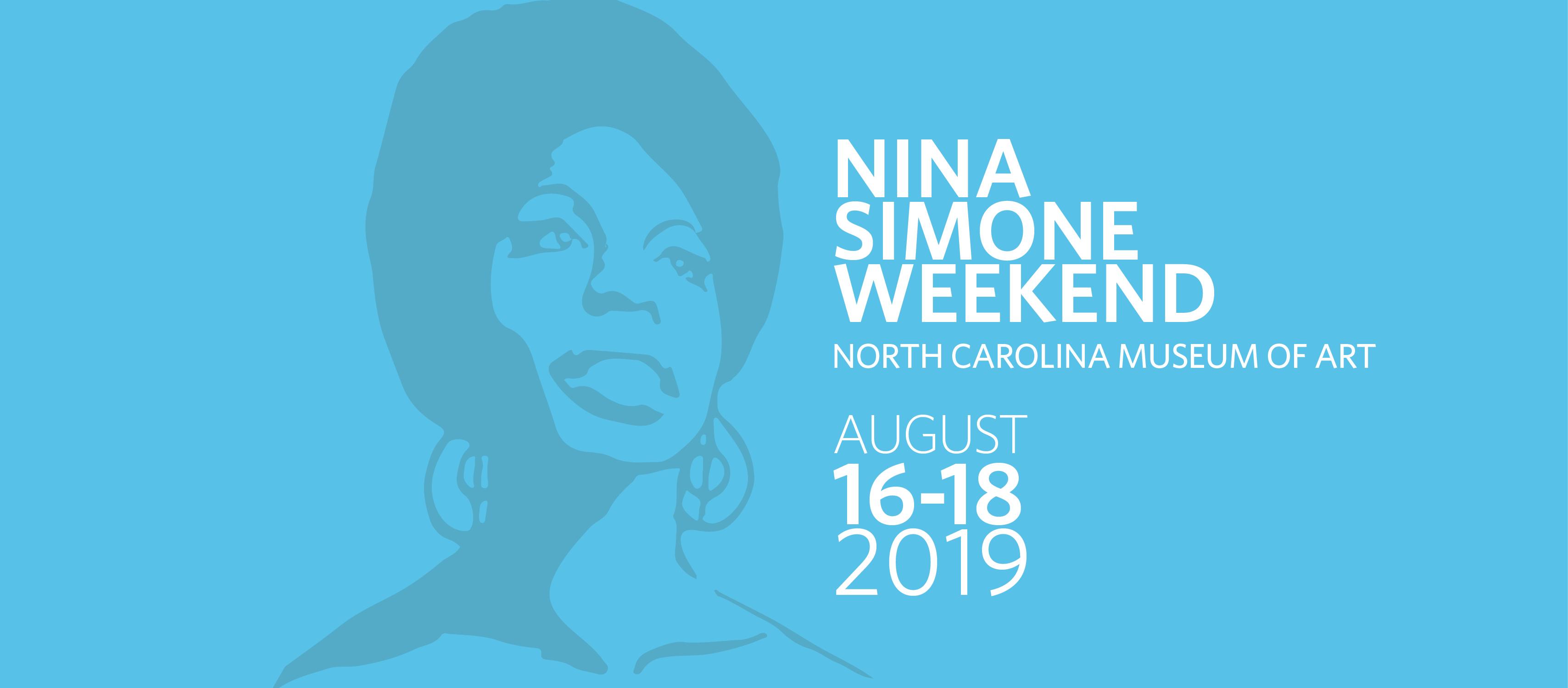 Nina Simone Weekend poster