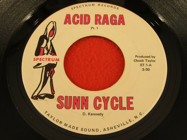 "Sunn Cycle ""Acid Raga"" 7"" record"