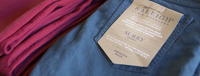 Raleigh Denim - Arts and Culture in North Carolina