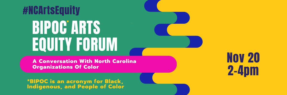 BIPOC Arts Equity Forum