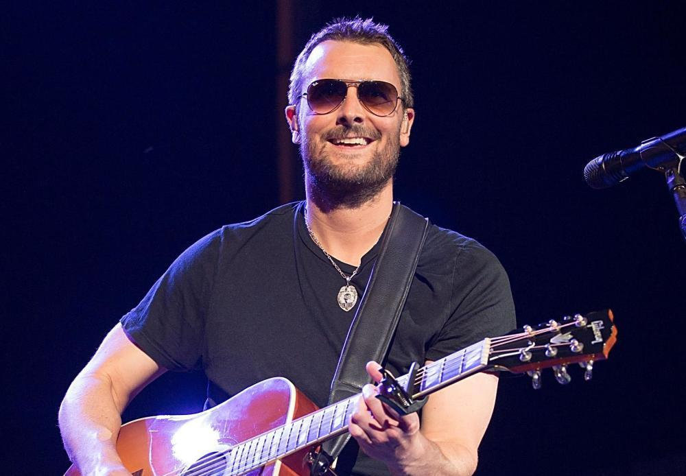 Country music star Eric Church is from North Carolina