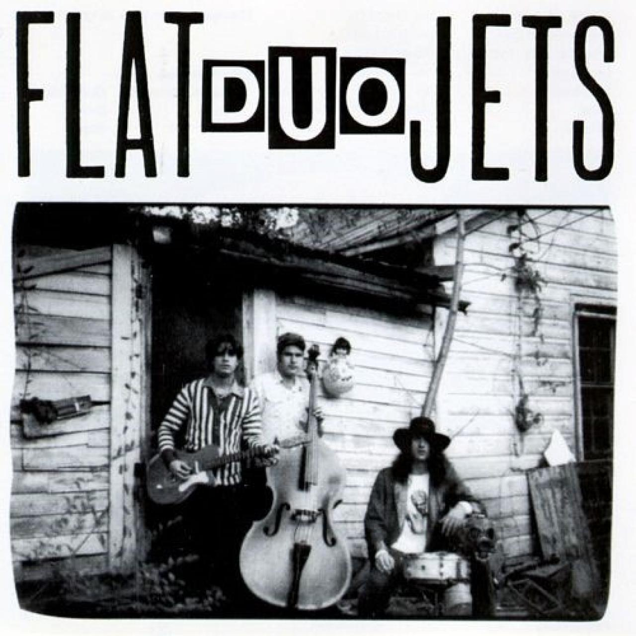 Flat Duo Jets eponymous debut album cover