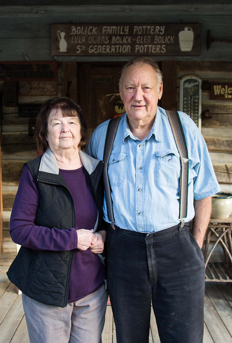 格伦和卢拉·博利克
