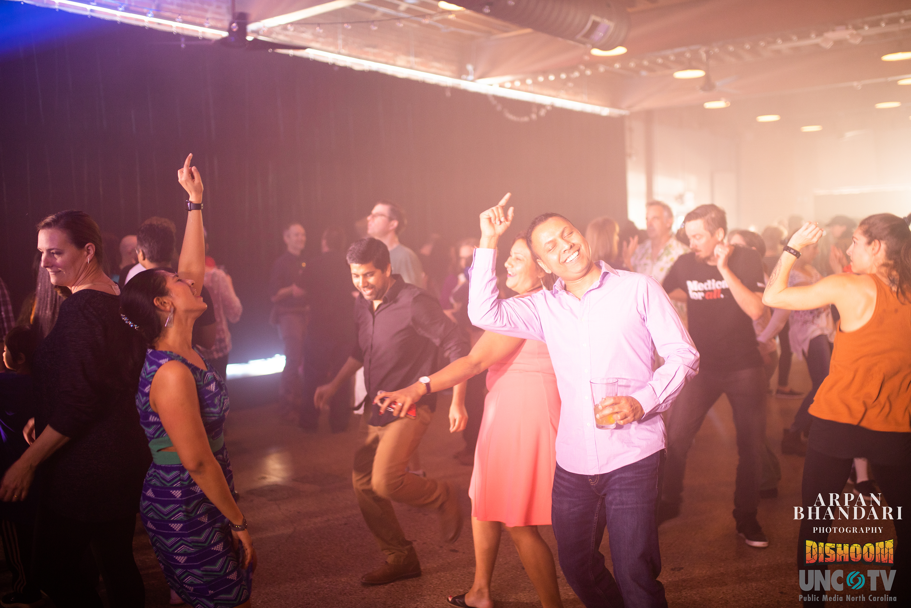 DISHOOM attendees dancing | Photo credit: Arpan Bhandari