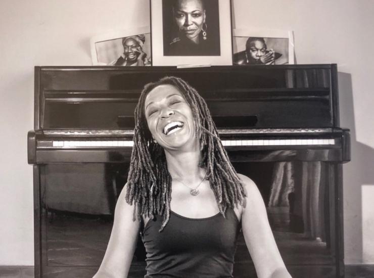 Lisa Simone, daughter of Nina Simone.