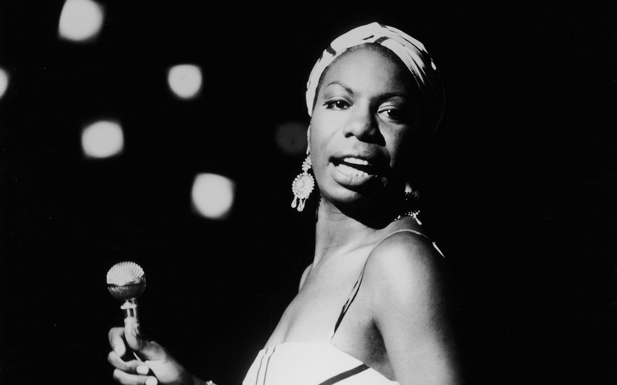 Photo of Nina Simone by Getty Images