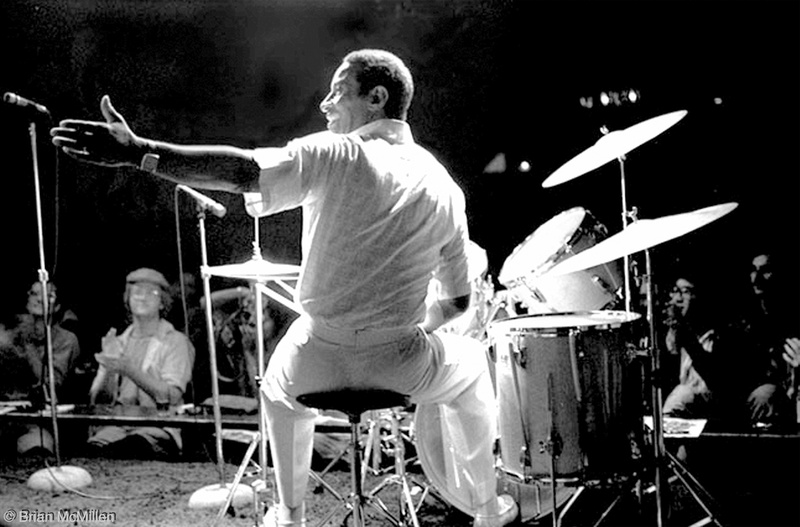 Max Roach performing at Keystone Korner, San Francisco 1979 - Brian McMillen photo