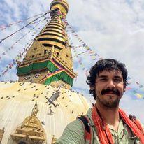 Joseph Perez in Tibet