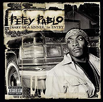 Petey Pablo Album Cover from Jive Records
