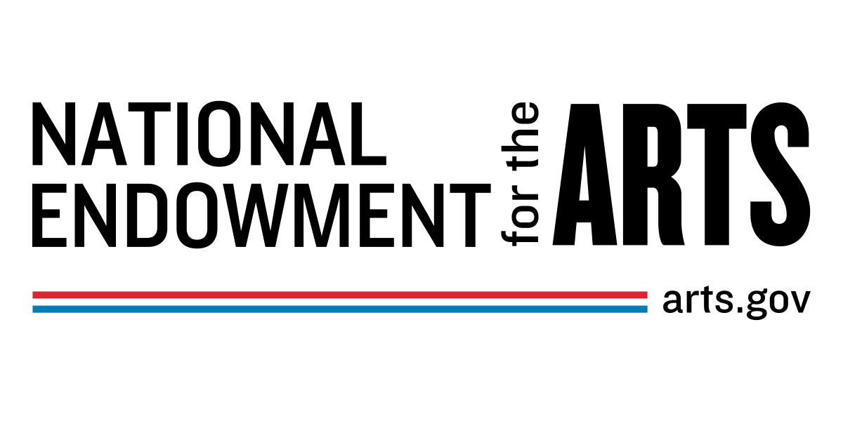 NEA Logo - Horizontal Black and White with Color