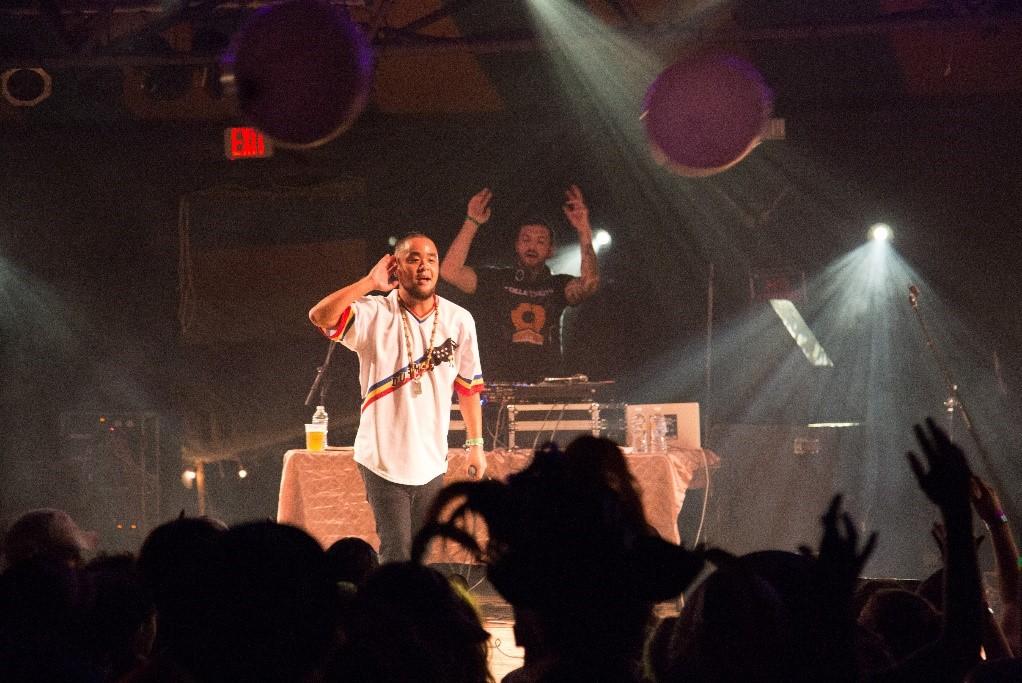 Durham, N.C. hip-hop artist Gyamazawa at Shakori Hills