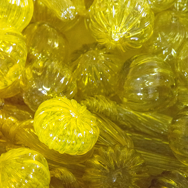 Yellow glass for Burnsville telescope