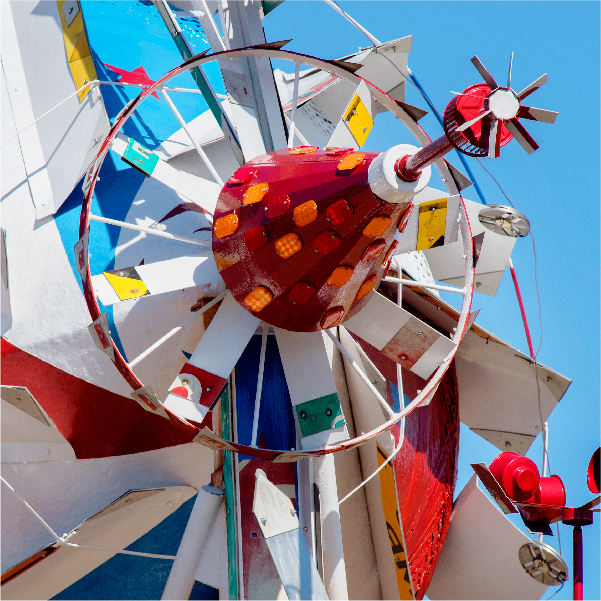 Whirligigs at the Volis Simpson Whirligig Park