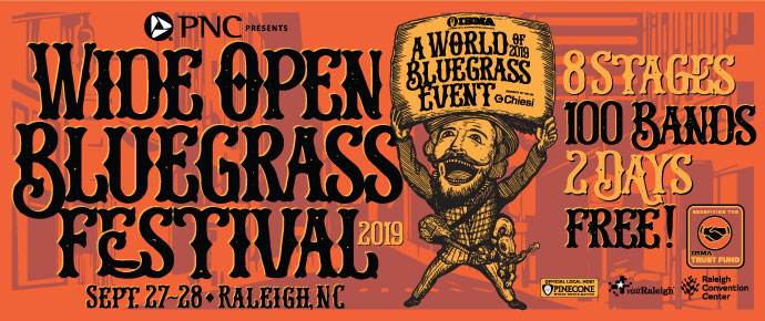 Wide Open Bluegrass poster