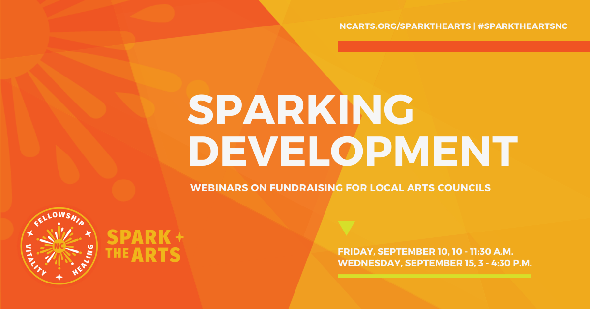 Sparking Development: Webinars on fundraising for local arts councils