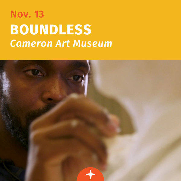 November 13, unveiling of Boundless, a sculpture by Stephen Hayes