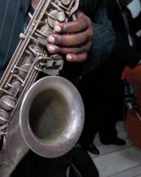 Detail of Saxophone
