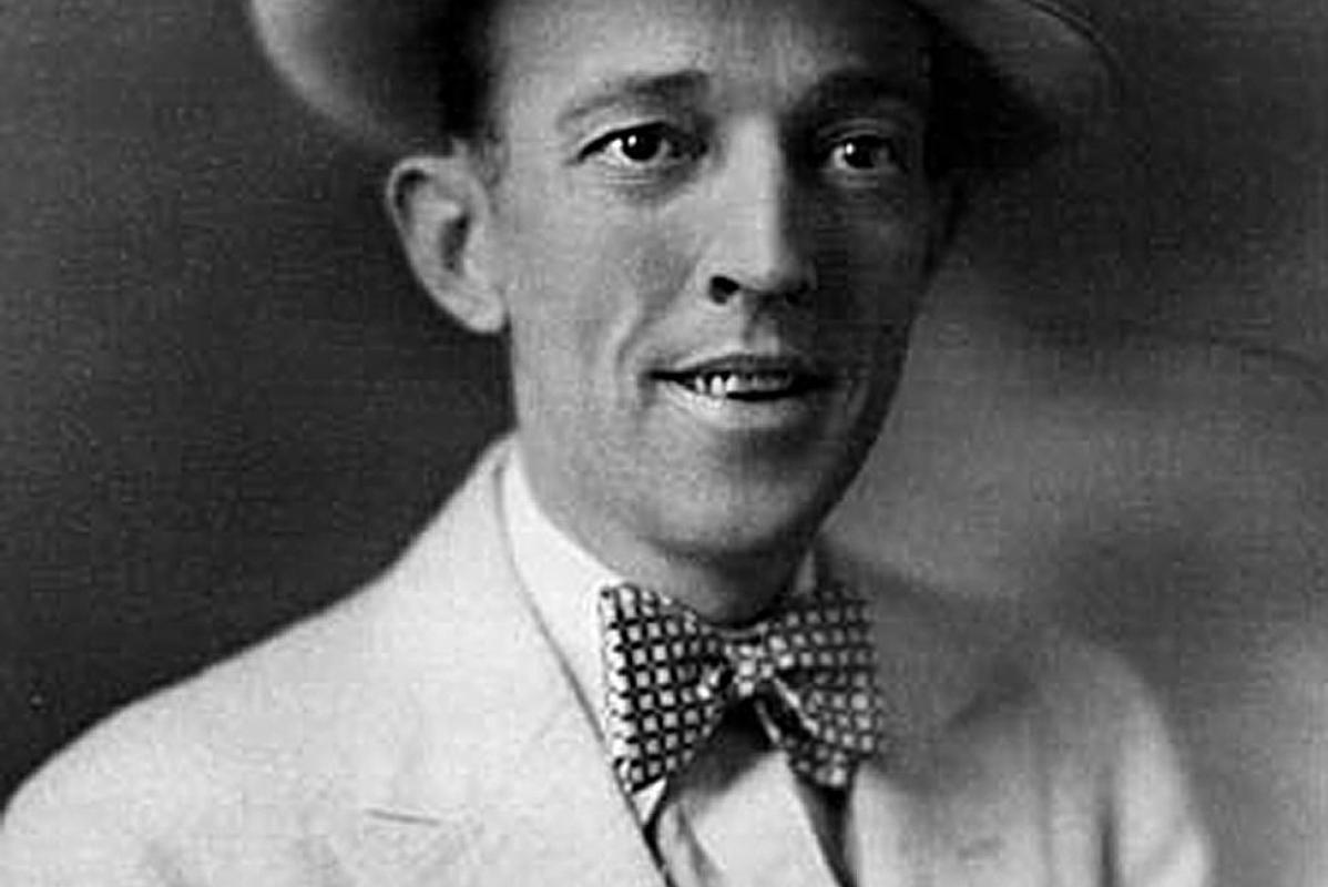 A portrait of Jimmie Rodgers